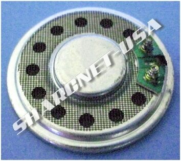 Figure 4: - Rear View - 3xx/6xx GPS Replacement Speaker