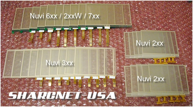 Figure #1-1C: SHARCNET-USA Replacement Touchscreens