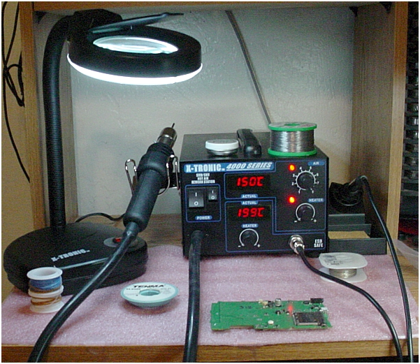 SHARCNET-USA Surface Mount (SMT) Hot Air Rework/Soldering Station